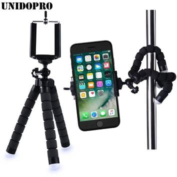 Flexible Holder Octopus Tripod Bracket Stand Monopod Digital Camera for Gopro Hero 3 4 for iPhone X 8 7 6S 6 Huawei Phone S7 S8