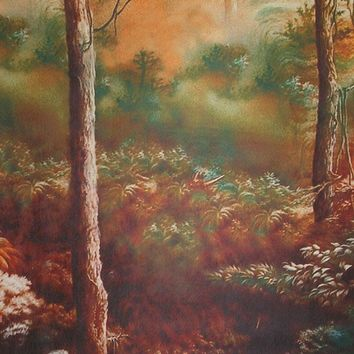 Printed Muslin Children's Autumn Forest Backdrop - 114-4