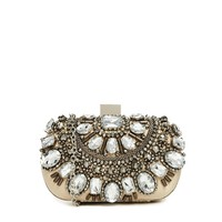 ALDO Enroelid Beaded Box Clutch