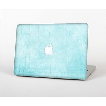 The Vintage Blue Textured Surface Skin Set for the Apple MacBook Pro 15""