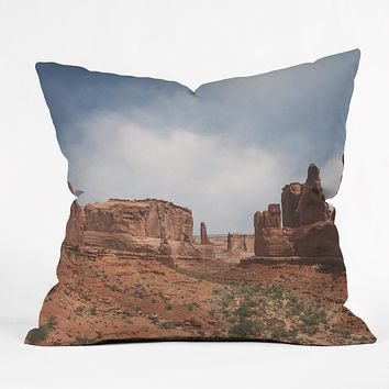 Catherine McDonald Southwest Desert Outdoor Throw Pillow