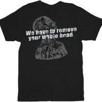 House M.D. Remove Youre Whole Head Adult Black T-Shirt - House - | TV Store Online