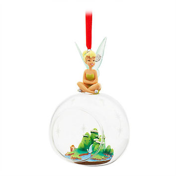 Tinker Bell Glass Globe Sketchbook Ornament | Disney Store