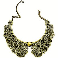 Old Fashion Metal Texture Necklace