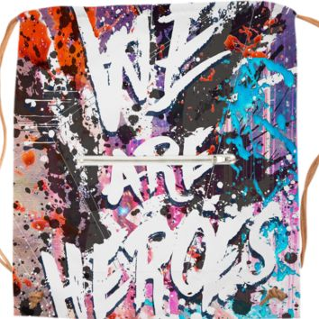 Hero Sessions I - Sports bag created by HappyMelvin | Print All Over Me