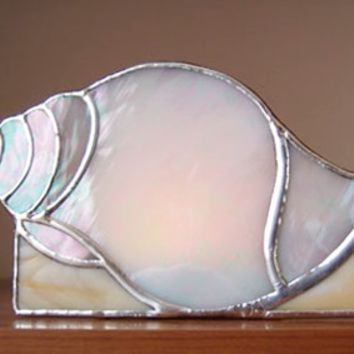 Tulip Shell Candle Holder