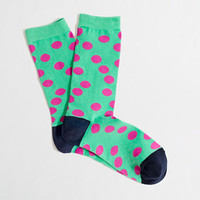 Factory polka-dot socks