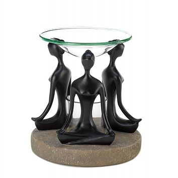 Yoga Lotus Pose Oil Warmer