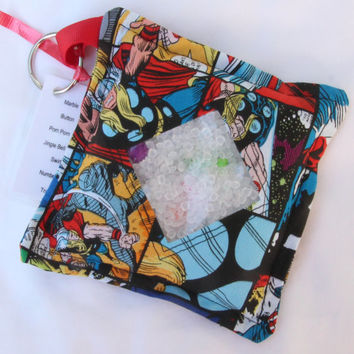 I Spy Bag, Marvel Superheroes, Hulk, Captain America, Thor, Iron Man, Super Hero, Boy themed items with detachable item list