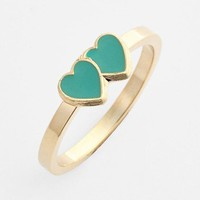Rachel Double Heart Midi Ring | Nordstrom