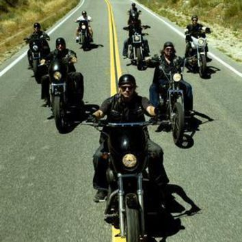Sons Of Anarchy Riding Poster 16inx24in