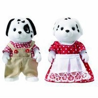 Sylvanian Families Dalmatian Family by Flair
