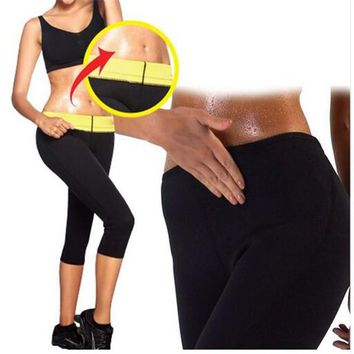 Hot 1PC Women Slimming Shapewear Stretch Pants Hot Thermo Neoprene Sweat Sauna Control Workout Panties Body Shapers