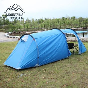 Mountains Mountains 3-4 Person Tunnel Tent