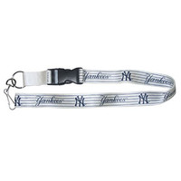 MLB New York Yankees Lanyard, Pinstripe