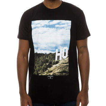 HO LLYWOOD TEE BLACK