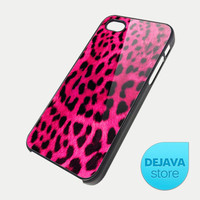 Pink Leopard Skin Pattern iPhone 5 Case