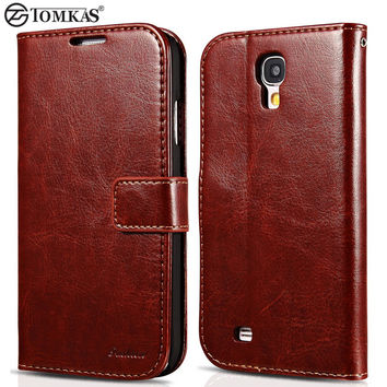Wallet PU Leather Case For Samsung Galaxy S4 i9500