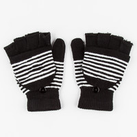 2 Pack Tech Gloves Black/White One Size For Women 26403112501
