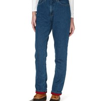 Double L Jeans, Relaxed Fleece-Lined