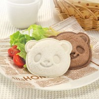 1 X Cute Panda Bear Sandwich Pocket Maker Bread Toast Mold Mould Cutter Stamp