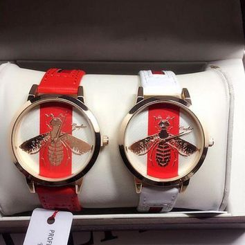 One-nice™ GUCCI Fashion Women Watch Little Bee Ltaly Stylish Watch I