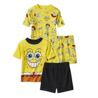 SpongeBob SquarePants 4-pc. Pajama Set - Boys