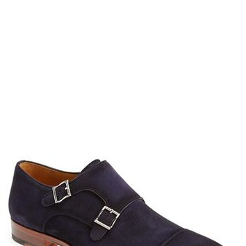 Men's Magnanni 'Cortillas' Double Monk Strap Shoe (Online Only)