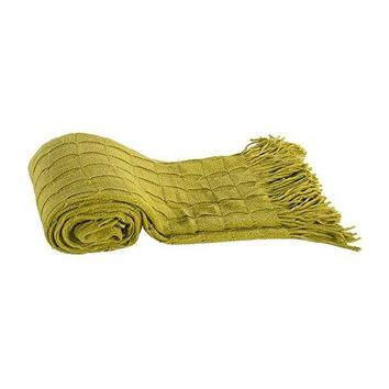 Ben and Jonah Faux Cashmere Throw Blanket (Green)