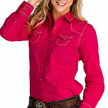 Best Pink Western Shirt Products On Wanelo