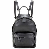 Leather Nano backpack