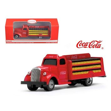1938 Coca Cola Delivery Bottle Truck 1:87 HO Scale Diecast Model
