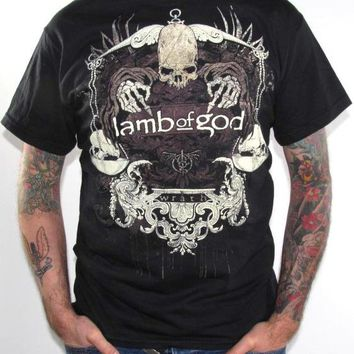 Lamb Of God T-Shirt - Dead Justice