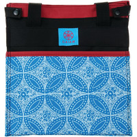 Lunch Tote Blue Batik