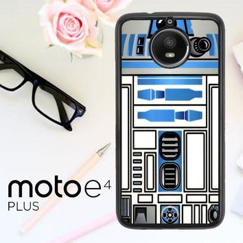 Star Wars R2D2Lens Camera V1714 Motorola Moto E4 Plus Case