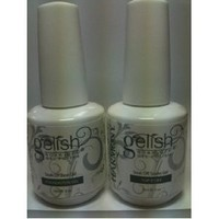NEW Gelish Gel LED Foundation Base Coat Gel + Top It Off Coat 15 mL .5oz Polish
