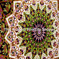 Twin Mandala tapestry Hippie Hippy Wall Hanging Throw Bedspread Dorm Tapestry Decorative Wall Hanging Beach Blanket star Mandala Tapestries