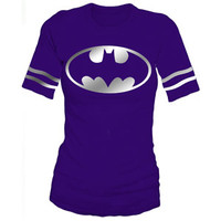 Walmart: Juniors Batman Graphic Hockey Tee
