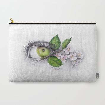 Apple of my eye Carry-All Pouch by EDrawings38 | Society6