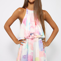 Happy Heart Playsuit - Floral