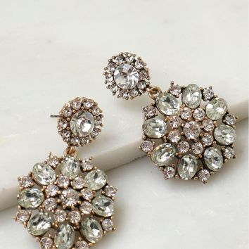 Vintage Inspired Crystal Earrings