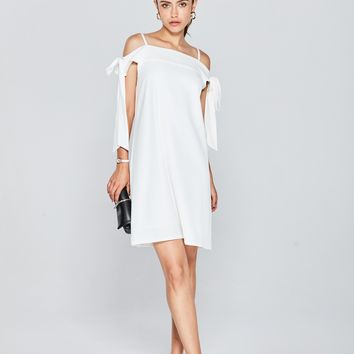 Honey Slip Dress With Tie Detail DR1510