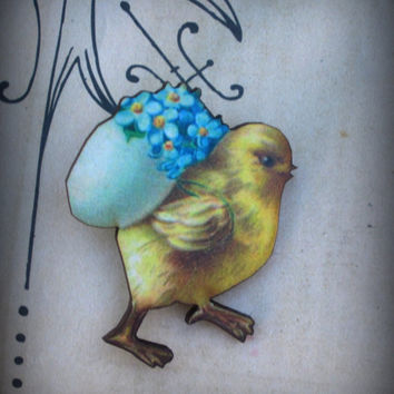 Easter Pin  Brooch