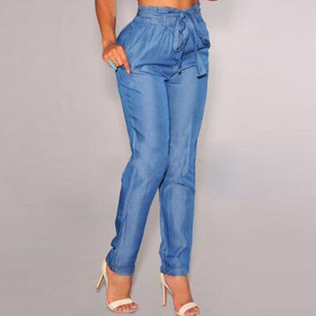 Waistband Waist Belt High Waist Denim = 4804279876