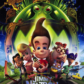 Jimmy Neutron: Boy Genius 11x17 Movie Poster (2001)