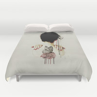 Backage Duvet Cover by Galen Valle