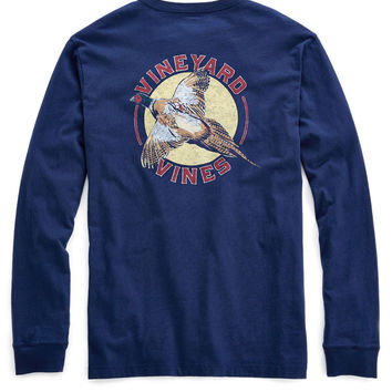 Vineyard Vines - Pheasant Call Long Sleeve Tee