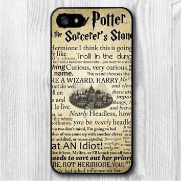 Harry Potter Story Old Paper Style Phone Case