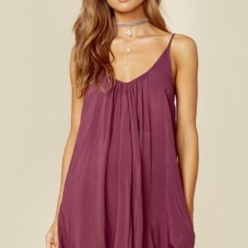 U BACK BABYDOLL DRESS