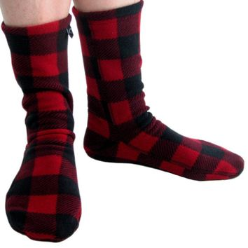 Polar Feet® Fleece Socks - Lumberjack